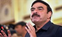 Sheikh Rashid fears economic chaos under Shehbaz as PAC Chairman