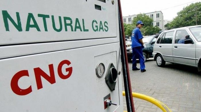 Gas supply to Karachi CNG stations to be stopped at 08pm for 36 hrs