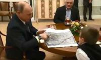Putin fulfills ailing boy's wish