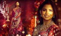 Isha Ambani looks stunning in Ami Patel's designed 'Sabysachi' lehenga