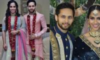 First photos out! Saina Nehwal ties the knot with Parupalli Kashyap