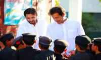 Afridi supports PM Imran's stance on Kashmir