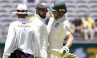 India vs Australia: Virat Kohli, Tim Paine get physical - see video