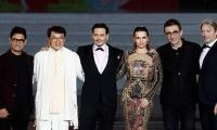 Aamir Khan shares the stage with Johnny Depp, Jackie Chan in China