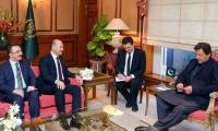 Turkish Interior Minister calls on PM Imran