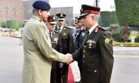 Egyptian leadership lauds Pak Army's professionalism upon COAS's visit