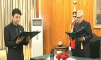 Murad Saeed sworn in as Federal Minister after PM Imran elevated him