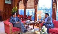 Fawad Chaudhry calls on PM Imran Khan
