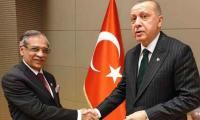 Erdogan welcomes Chief Justice of Pakistan to the city of Rumi