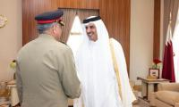 General Bajwa commends Qatar's continued support for negotiated settlement in Afghanistan