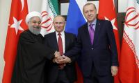 Russia, Turkey, Iran renew push for new Syrian constitution