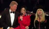 'Give thanks to Allah': This is not the video of Michael Jackson singing in front of Clinton