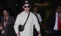 Nick Jonas is back in Mumbai for second wedding reception