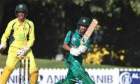 Australia U16 beat Pakistan U16 in fourth ODI to level series