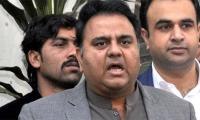 Fawad Chaudhry says process to change Sindh government has started