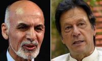 Afghan President Ghani telephones PM Imran Khan