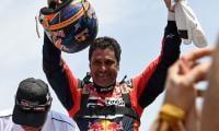 Qatar's al-Attiyah wins third Dakar Rally title