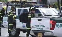 Eight dead in car bomb attack on Colombian police school