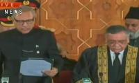 Justice Asif Saeed Khosa takes oath as Chief Justice of Pakistan