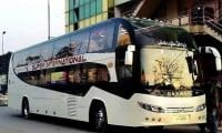 Luxury bus service from Karachi to Quetta inaugurated