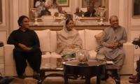 Zardari, Bilawal jointly chair meeting of PPP central office-bearers, senior leaders