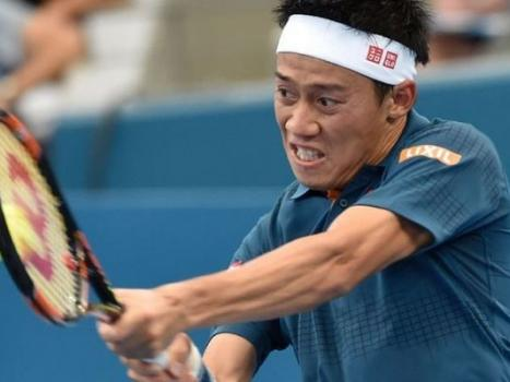 Nishikori happy after speeding to Japanese fourth-round double