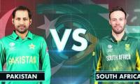 Pakistan vs South Africa: Both teams set for today's clash