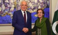 US envoy Zalmay Khalilzad concludes four-day visit to Pakistan