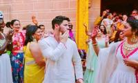 New wedding picture shows Nick blowing a kiss to Priyanka