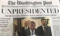 Donald Trump resigns: Washington Post's fake editions being distributed in DC