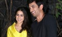 Is something brewing between Sara Ali Khan and Sushant Singh Rajput?