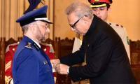 President confers Nishan-i-Imtiaz (M) upon Saudi CGS General Fayiadh