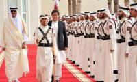 Prime Minister Imran Khan's visit to Qatar in pictures
