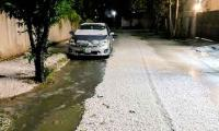 Watch: Lahore turns white after hailstorm
