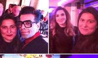 Sharmeen Obaid-Chinoy meets Karan Johar, Queen Rania at WEF