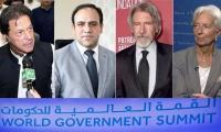 Imran Khan, Harrison Ford, IMF chief, Dr Umar Saif to speak at Dubai's World Government Summit