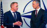 New Pentagon chief meets NATO allies wary after Trump rows