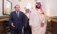 Saudi Crown Prince had finalized aid package for Pakistan with me, claims Nawaz Sharif