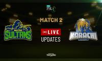PSL Live Cricket Score Match 2: Karachi Kings vs Multan Sultans
