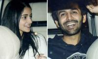 Kartik Aaryan, Ananya Pandey celebrate Valentine's Day with other celebs