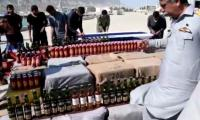 Rs 20 million worth liquor confiscated by Pakistan Navy