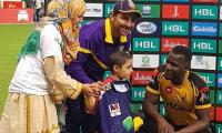 PSL4 invites special guest to mark Childhood Cancer Day