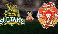 PSL live cricket score match 4:  Multan Sultans defeat Islamabad United by 5 wickets
