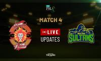 PSL 2019 Match 4:  Multan Sultans defeat Islamabad United by 5 wickets