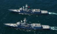 Pakistan, Turkish Navy hold bilateral naval drills