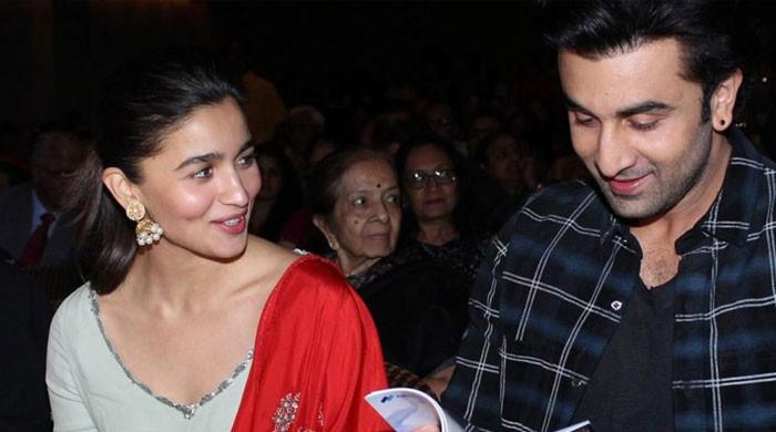 Alia Bhatt addresses rumors of tiff with Ranbir Kapoor