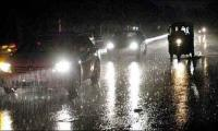 Light rain turns Karachi weather chilly