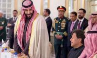 Crown Prince sees Pakistan's progress under PM Imran's leadership