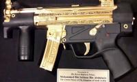 Saudi Crown Prince gifted gold-plated gun, portrait by Senate chairman