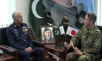 Japan's Vice Chief of Joint Staff calls on Pak Air Chief